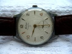 Soviet watch vintage Pobeda mechanical mens watch. $34.99, via Etsy.