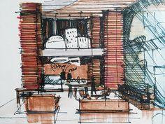 Trazos para la creación de la nueva tienda de la casa de postres de Barquisimeto. Se nos presenta con el compromiso de crear en tiempo récord una propuesta que cumpla con las normas que establecimo…