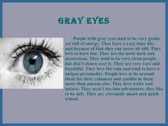 Oh my gosh okay so it says that people with gray eyes love WATER! And Annabeth and Percy and gray eyes…and water…yesssss!!!!