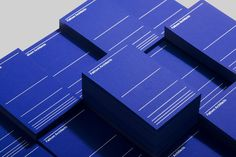 Brand identity and business cards for UK based Fathom Architects by dn&co.