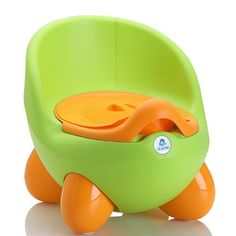 Lil Jumbl Green Baby Egg Potty - Perfect Mommys Helper for Potty Training - Green #baby