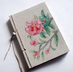Beautiful hand painted cover