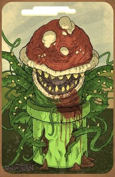 Super Mario Bro's Little Shop of Horrors by Alexander Iaccarino