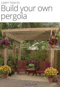 How to Build a DIY Pergola