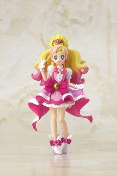 Go! Princess Precure Cuty Figure Cure Flora BANDAI Official Toys JAPAN