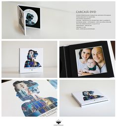 DVD cover in collection with beautiful album design with chapters, an original SeSiVede Photography idea.