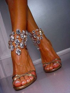 Crystallized Bejeweled Heels