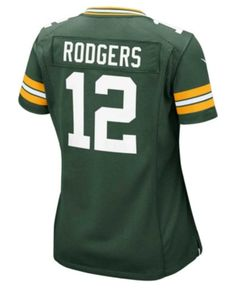 Nike Women s Aaron Rodgers Green Bay Packers Game Jersey - Green XXL 34f029ff9
