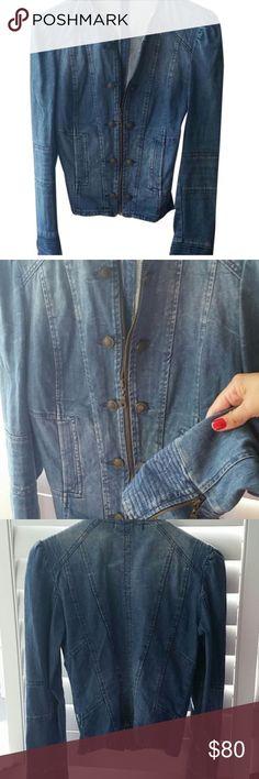 🌹host pick 🌟Gourgeous jeans jacket Gourgeous jacket Zara like a new no smoke Zara Jackets & Coats