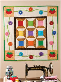 Sewing Room Boutique FREE quilt pattern download. Free-Quilting.com.