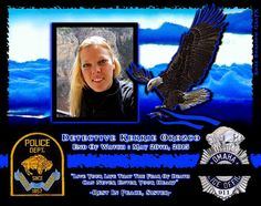 IN MEMORIAM: DETECTIVE KERRIE OROZCO Detective Kerrie Orozco was shot and killed as she and other members of the Metro Area Fugitive Task Force attempted to serve a warrant on a man wanted for a shooting in September 2014. The subject opened fire on the officers as they approached a home near the intersection of Read Street and Martin Avenue. Members of the task force returned fire, fatally wounding the man. Detective Orozco was transported to Creighton University Medical Center where she succum Officer Down, Police Officer, Creighton University, Police Lives Matter, Police Life, Reading Street, Law Enforcement Officer, All Hero, Step Kids