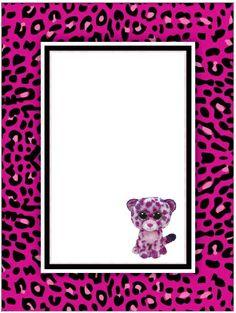 Beanie Boo Birthday Glamour Invitation