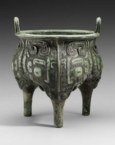 Ritual vessel of Duke Xi of the state of Lu (liding). Chinese, Western Zhou dynasty, 10th century B.C.