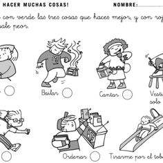 Educación emocional y malos alumnos: Actividades para Educación Infantil ⋆ Teacher Nerea Comics, Frases, Home, Baddies, School, Activities, Projects, Comic Book, Comic Books