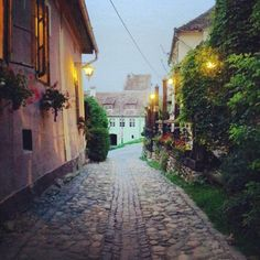 Sighișoara,  România Stone Street, Old Stone, Travelling, Country, Rural Area, Country Music