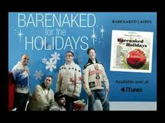 Wearing the classic Mary Maxim sweater patterns - Totem Pole, Skiers, Icelandia...the Barenaked Ladies for the Holidays album from 2005.