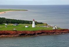 East Point lighthouse, PEI - climbed it!! ;)