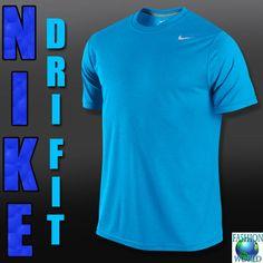 Nike 698255 418 LEGEND DRI-FIT Poly Men's Training T-Shirt Team BLUE XL #Nike #BasicTee