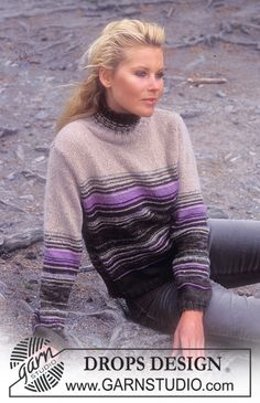 In knitting's most basic stitch and used so effectively.  Love the sequence of the stripes!