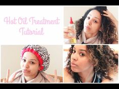 Hot Oil Treatment For Curly Hair | UK Curly Girl