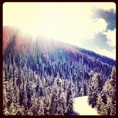 the beautiful Sawtooth Mountains in Idaho