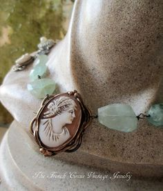 LADY of the RIVIERA  vintage assemblage by TheFrenchCircus on Etsy