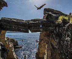 Red Bull, Ilheu de Vila Franca do Campo, Azores, Portugal