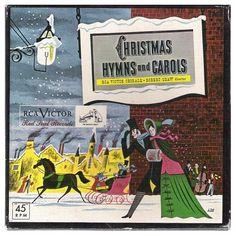 Robert Shaw Conducts Christmas Hymns And Carols 45 RPM Album