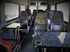 Minibus Sprinter VIP 518 XXL for up to 15 passengers. Perfect for families and groups.