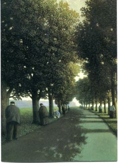 "Michael Sowa - I have this print right near the entrance to my bathroom.  LOVE it.  Takes people awhile to ""get"" it"
