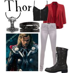 """""""Thor"""" by companionclothes on Polyvore"""