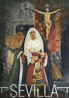 Cartel Semana Santa Sevilla 2016. Autor: César Ramírez Martínez