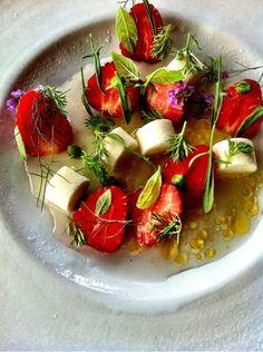 Beautiful strawberries - from Rene Redzepi