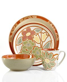 Denby Dinnerware, Fire Mix and Match Collection - Casual Dinnerware - Dining & Entertaining - Macy's