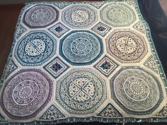 15-03-2017  Using the triangles and corners from this afghan to make up blanket using Lilla Bjorn's Labyrinth and Celtic Mandalas and adding part of Joanas Mandala to make them all the same s...