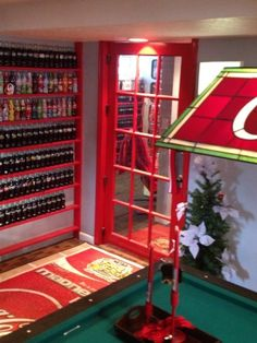 Coca Cola Basement I've always wanted one