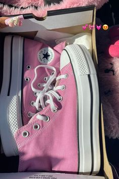 Dr Shoes, Swag Shoes, Hype Shoes, Me Too Shoes, Shoes Heels, Pink Shoes, Mode Converse, Converse High, Converse Shoes Outfit