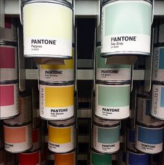 Aren't our Pantone tester pots are so cute? Get the most out of the pots by using them as pencil holders when you run out of paint! Fleetwood Paint, Pantone Paint, Pencil Holders, Whiskey Bottle, Color Mixing, Pots, Painting, Painting Art, Paintings