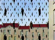 Rene Magritte - Golconda
