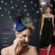 """Hot holiday sale is going on@La Mode by GV Miao Online #Jewelry/ #Accessories Store (https://www.facebook.com/LaModeByGVMiaoOnlineJewelryStore)! All of my tips for creating mind blowing #party looks start with the head. """"Madame #Peacock"""" delicately #handcrafted by #HK #headpiece #designer @angelwongimage showcased in my debut #NYC #Asian #Fashion Week #Extravaganza in Sept exudes #oriental grace.   Only ONE piece available, message me NOW to confirm order before it's gone forever! FREE…"""