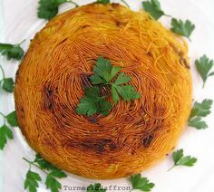 Persian-style Spaghetti w/ crispy bottom (sounds weird, but don't knock it till you try it... Makes me miss my grandma so much)