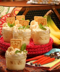 Home-made Banana Pudding from Famous Dave's Barbecue Party Cookbook