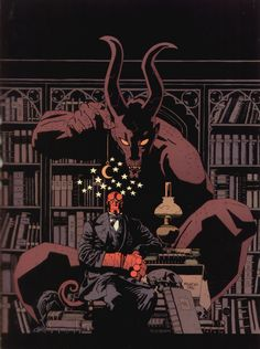 Mike Mignola, one of my favorite artists.