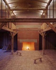 A Striking German Barn Conversion by Thomas Kröger Architekt | http://www.yatzer.com/landhaus-Thomas-Kroeger-Architekt photo © Thomas Heimann.