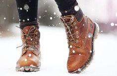 Snow! Boots! Snow boots!