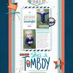 She's A Tomboy by Trace at #designerdigitals