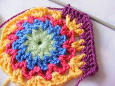 pinkfluffywarrior: Nameless hexagon has a name! (PATTERN)