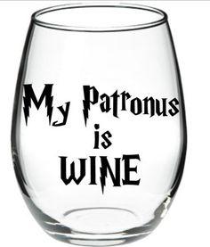 Harry Potter Harry Potter Wine Glass Harry door DanniBeCollection