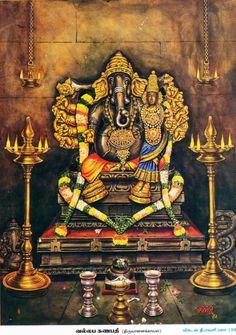 Make this Ganesha Chathurthi 2020 special with rituals and ceremonies. Lord Ganesha is a powerful god that removes Hurdles, grants Wealth, Knowledge & Wisdom. Ganesh Lord, Shri Ganesh, Ganesha Art, Om Namah Shivaya, Om Gam Ganapataye Namaha, Ganesh Images, Ganesha Pictures, Hanuman Images, Krishna Images