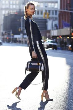 Street Pepper Phil Oh shoots for #saks #fashion #handbags #style